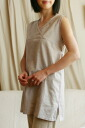 Stretch + linen materials worn! Wear all year around cotton linen blend sleeveless room TOPS can be