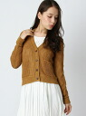 Ciaopanic hemp single furrow cardigan L/S