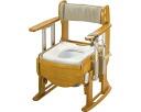 舒畅的木制厕所坐位优扶手升降/1万8710普通去臭马桶座