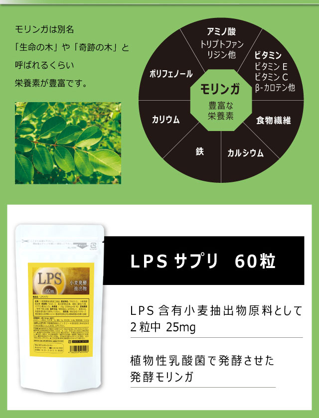 LPS(リポ多糖) リポポリサッカリド リポポリサッカライド 免疫ビタミン:一流シェフクラブ 楽