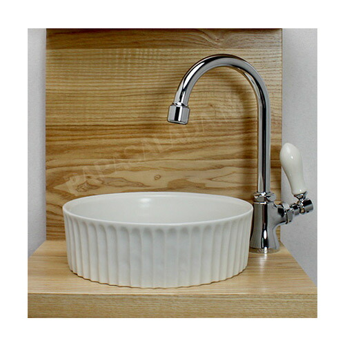 PIVOT専用スワン立水栓×ベッセル型手洗器 3点セット