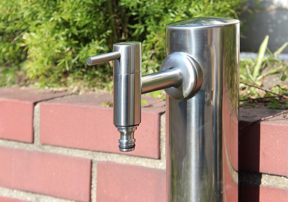 ステンレス・ガーデン水栓(ショート)