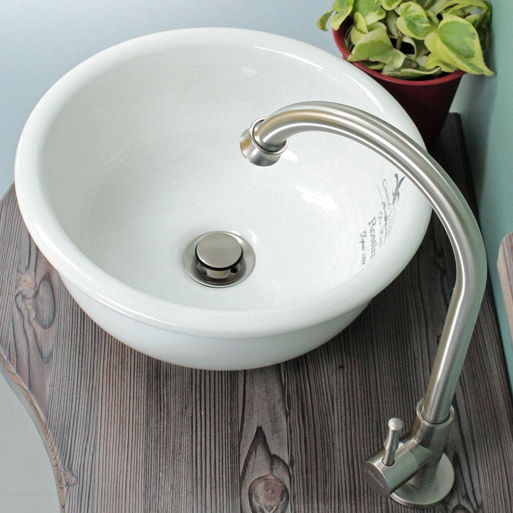 蛇口と手洗器のセット