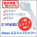 Shower replacement エコグッツ water-saving ★ more than 5250 Yen in teen pulled free ★ points 10P04Feb1310P28oct13.