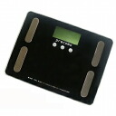 precomo body composition bathroom scales scale PRBF-40BK black 5,250 yen or more are collect on delivery free of charge (impossible of cancellation return of goods with a discount service impossibility article, an order product) point 10P13Dec13
