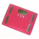 precomo body composition bathroom scales scale PRBF-40PK pink 5,250 yen or more are collect on delivery free of charge (impossible of cancellation return of goods with a discount service impossibility article, an order product) point 10P30Nov13