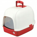Fantasy world for cat toilet クリーンハウストイレ red CC-2R more than 5250 Yen pulled free ( in discounted service unavailable products, products can be ordered no cancellation refunds ) points 10P28oct13