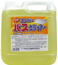 [Supervises cleaners 4 L x 4] 5,000 yen plus tax at least-discounts cannot be suddenly end missing and ★ point FMCG goods bath for detergents cleaner P25Jan15