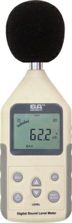【GA サウンドレベルメーター(騒音計) GS-04】<br>部屋から漏れる騒音を計測するのにいかがでしょうか。