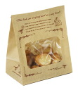 Window with bag ( antique ) 20 sheet 130 × 80 x height 165 mm wrapping & supplies bag gift paper wrapping confectionery products