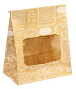 PA30 window with bag (logo) 20 sheet 130 × 80 x height 165 mm wrapping & supplies bag gift paper wrapping confectionery products