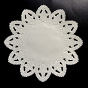 PA02 lace paper (No. 100 of flower)15.2cm6 flower-shaped piece lovely lace paper.
