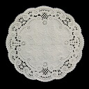 PA04 lace paper (round) 15 cm 120's fashionable lace paper round.