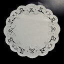 PA05 lace paper (round) 18 cm 120's fashionable lace paper round.