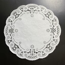 PA06 lace paper (round) 20 cm 120's fashionable lace paper round.