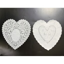 PA10 lace paper (heart) 20 x 21 cm 120 pieces 2 assorted cute heart shaped lace paper.