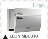 埋め込み式 モダンデザイン郵便ポスト ステンレス LEON MB0310