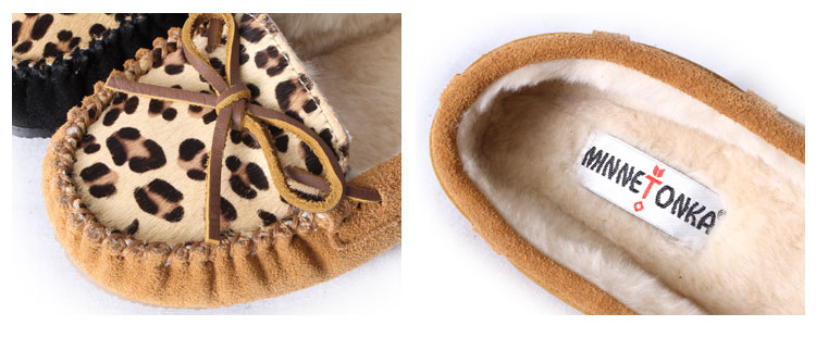 MINNETONKA/�ߥͥȥ� LEOPARD Cally Slipper/�쥪�ѡ��� ����꡼ ����å� �⥫����