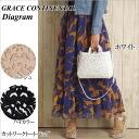 Grace continental bag diagram GRACE CONTINENTAL bag Diagram Solver bag leather bag tote bag leather carving series ladies store 2015 SS 10P11Apr15