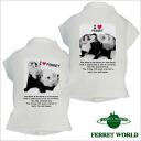 Jac T shirt photo felt for ferrets and ferret T shirt / ferret were / wear / printed t-shirt / fashion