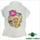 Jac T shirt loose dress up / ferret-CHAN for ferrets and ferrets and ferret were / wear / printed tee shirt