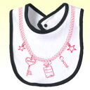 RIP pictures ☆ necklace! bebisutai-bib bib baby name into gift sets