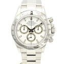 Rolex 116520 Daytona SS white-Edition V-mens automatic winding / 32814 ROLEX