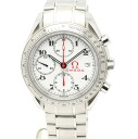 Omega 3231.04 Speedmaster date Olympic collection SS white-Edition mens automatic winding / 32817 OMEGA