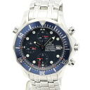 Omega 2599.80 Seamaster Pro SS blue character Edition mens automatic winding / 32819 OMEGA