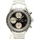 Omega 3210.51 Speedmaster date SS black x white-Edition mens automatic winding / 32836 OMEGA