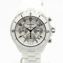 Chanel H1007 J12 chronograph 41 mm white ceramic men's automatic self-winding / 32490 CHANEL