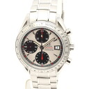 Omega 3211.31 Speedmaster date chronometer silver characters Edition mens automatic winding / 32517 OMEGA