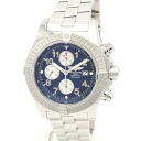 Breitling A13370 aeromarine Super Aben Messenger chronograph mens automatic winding / 32538 BREITLING