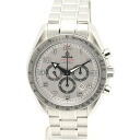 32571 OMEGA / Omega ☆ unused 321.10.44.50.02 Speedmaster broad arrow co-axial chronograph mens automatic winding