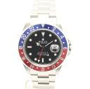 Rolex 16710 GMT Master 2 blue x red bezel A-men's automatic self-winding / 32588 ROLEX