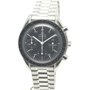 Omega 3510.10 Speedmaster SS Black Edition mens automatic winding / 32639 OMEGA