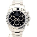 Rolex ☆ unused Cosmograph Daytona 116520 SS black dial mens automatic winding random number / 32698 ROLEX DAYTONA