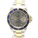SUB-MARINER 32707 ROLEX / Rolex 16613 SG blue Submariner DIA 8 p Sapphire gray character Edition mens automatic winding