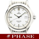 OMEGA (Omega) SS Seamaster 120 m white-board men's quartz / 31005 fs3gm