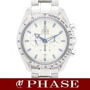 3551.20 OMEGA omega speed masters broad arrow chronograph white men self-winding watch /31765