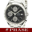 3511.50 omega speed master date SS black men self-winding watch /31870OMEGA