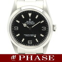 14270 1 Rolex Explorer SS lindera board men self-winding watch T turn single buckle /31899ROLEX