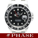 16710 2 Rolex GMT master SS black black bezel men self-winding watch Y turn /31900ROLEX