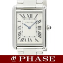 Cartier W5200014 tank solo LM SS silver men quartz /31967Cartier