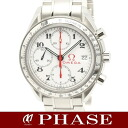 3515.20 omega speed master chronograph tachymeter white men self-winding watch /32336 OMEGA