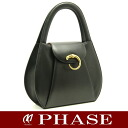 Cartier Bakery tail handbag calf black Cartier/51634