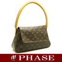 Louis Vuitton M51147 monogram mini-looping one shoulder bag Louis Vuitton/51655