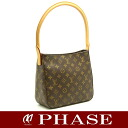 Louis Vuitton M51146 monogram looping MM one shoulder bag Louis Vuitton/51676