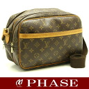 Louis Vuitton M45254 monogram reporter PM slant credit shoulder Louis Vuitton/51690