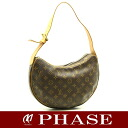 Louis Vuitton M51512 monogram croissant MM shoulder bag Louis Vuitton/51703